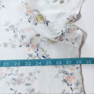 torrid Tops - Torrid Button Up Sheer Floral Blouse, 4